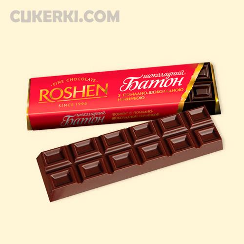 Батон ROSHEN помадно-шоколадний
