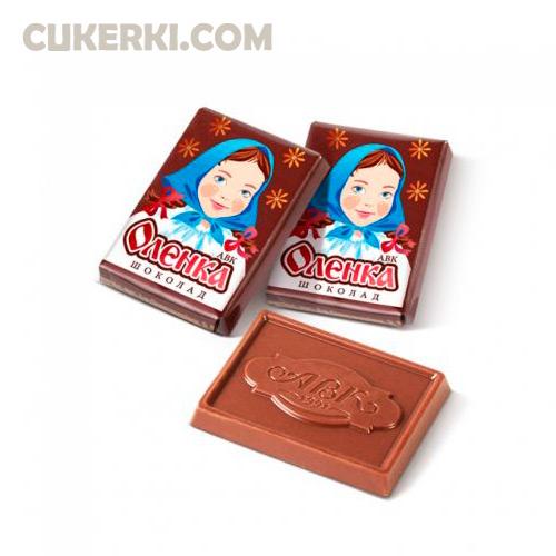 Шоколад Оленка АВК