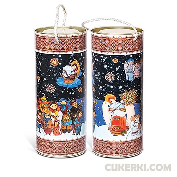 Новогодние детские подарки в тубе Саратов