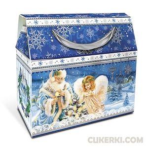 Новогодний подарок №8 Сумочка з Янголятком