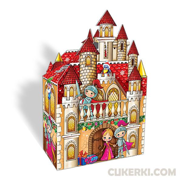 Новогодний подарок №27 Замок