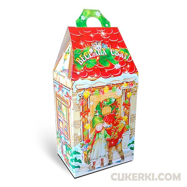 Новогодний подарок №29 Будиночок Санти