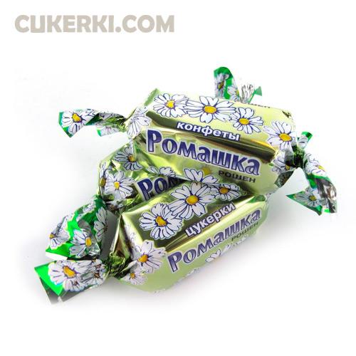 Конфеты РОМАШКА сливочная крем-брюле