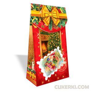 Новогодний подарок №36 Подарунок з листівкою