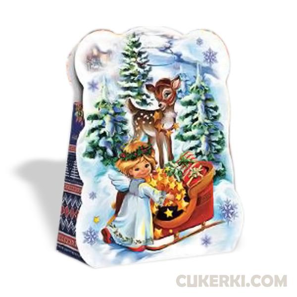 Новогодний подарок №37 Сумочка Діда Мороза