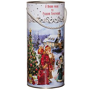 """Новогодний подарок № 012 """"Дід Мороз та діти"""""""